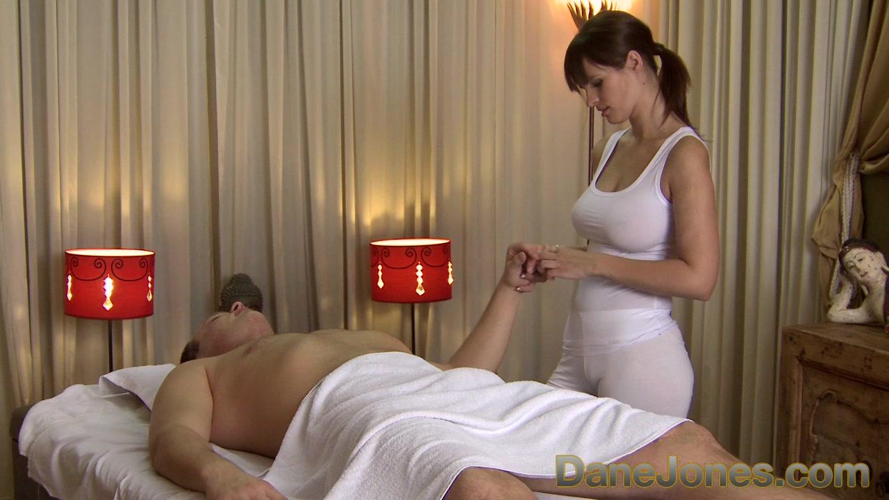 facebook massage brunette