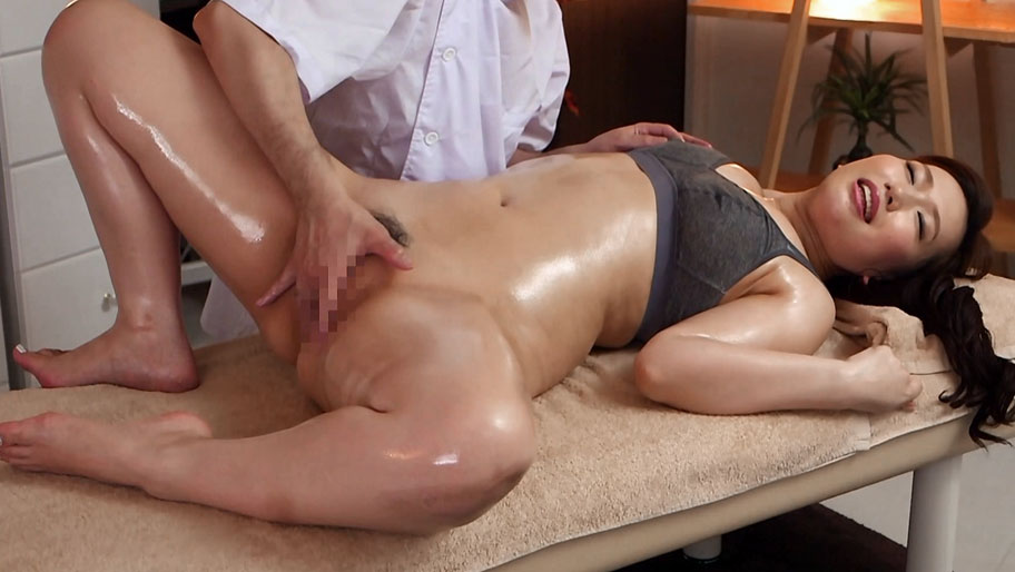 Japanese oil massage and fuck