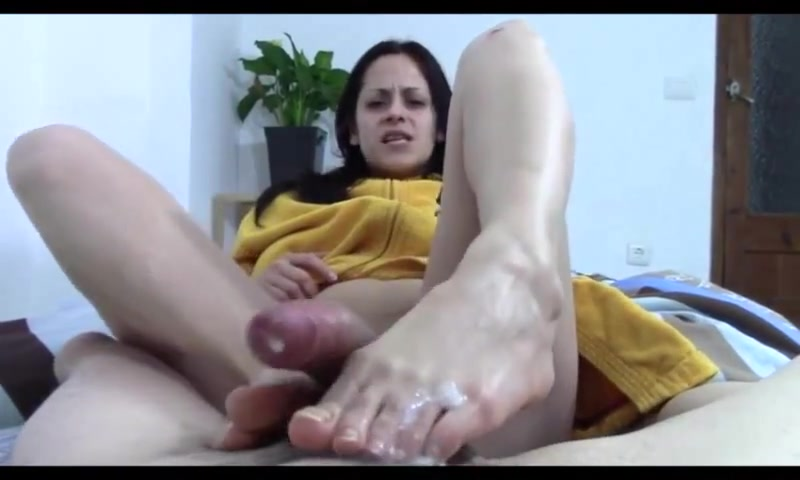 Homemade footjob Videos - Large PornTube