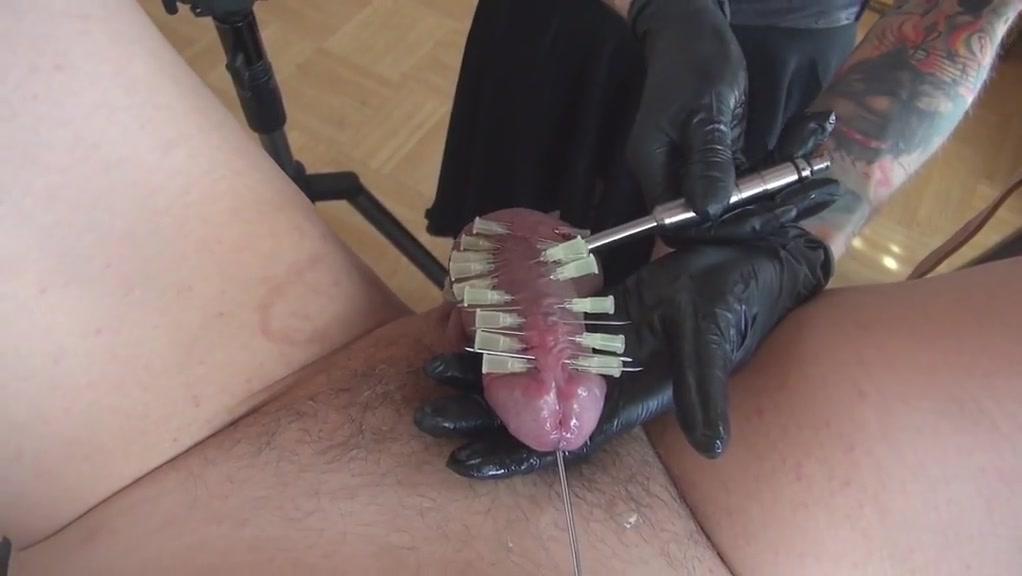 Hypadermic injection fetish