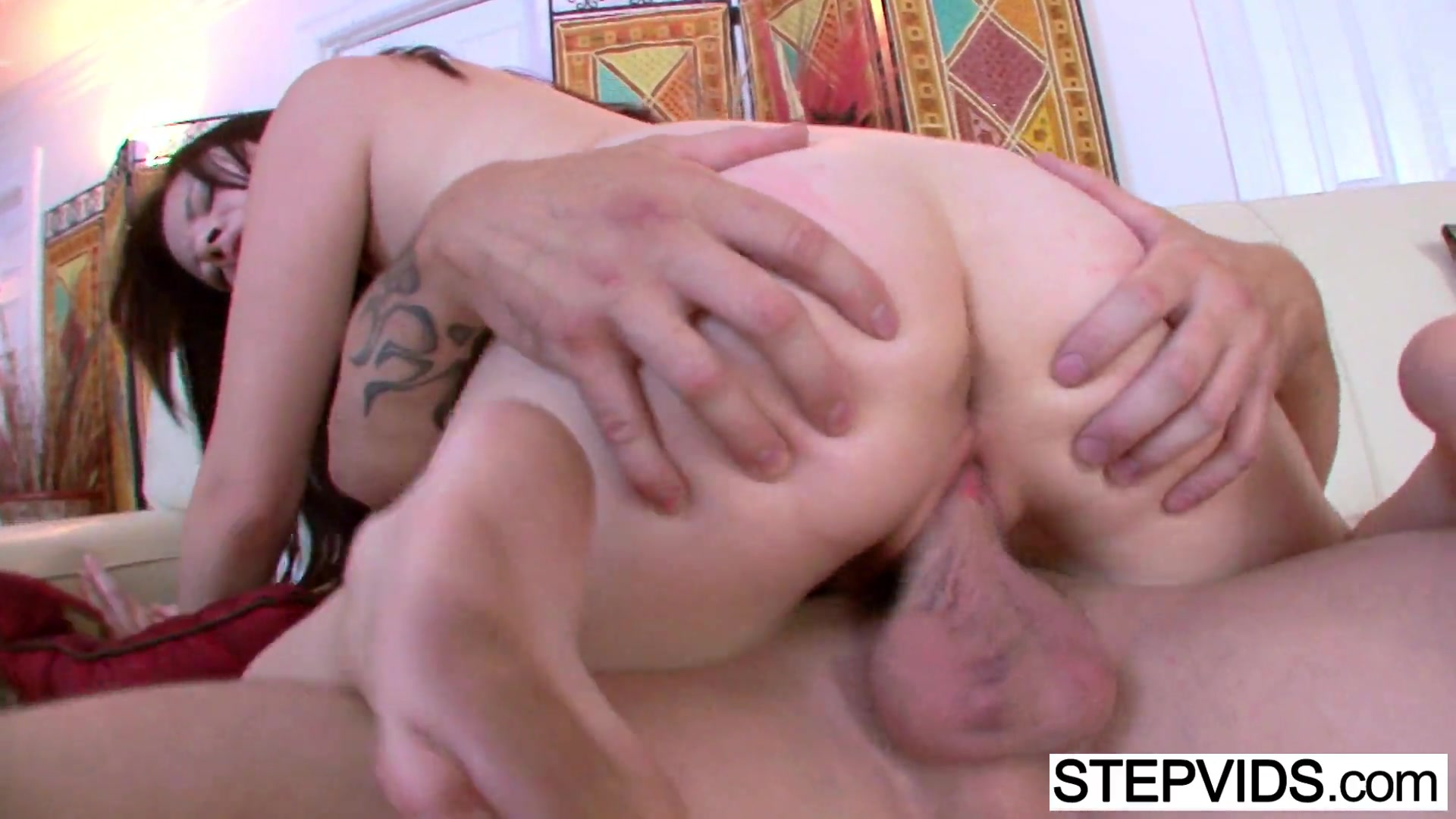 Alison rey gets teached by stepdad 3