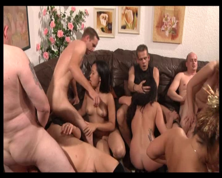 Free porn sex group swinger party