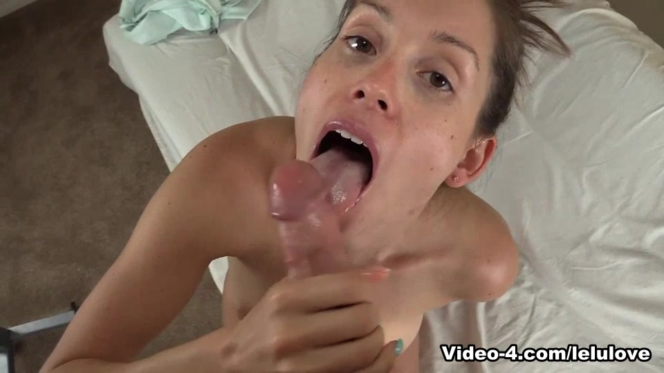 Lelu love cum in mouth