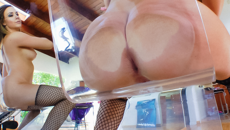 Please, pussy transparent chair